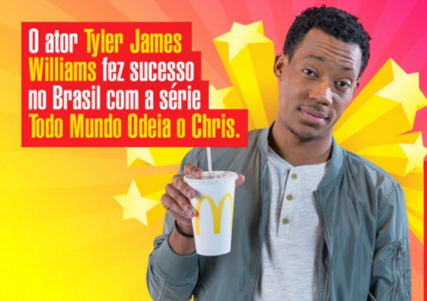 """Protagonista de """"Todo Mundo Odeia o Chris"""" vira estrela de campanha do McDonald's"""
