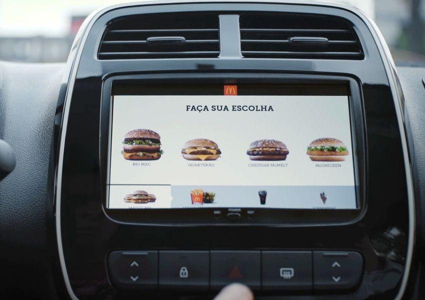 """McDonald's e Renault juntos pela primeira vez em ação """"Tasty"""" Drive"""