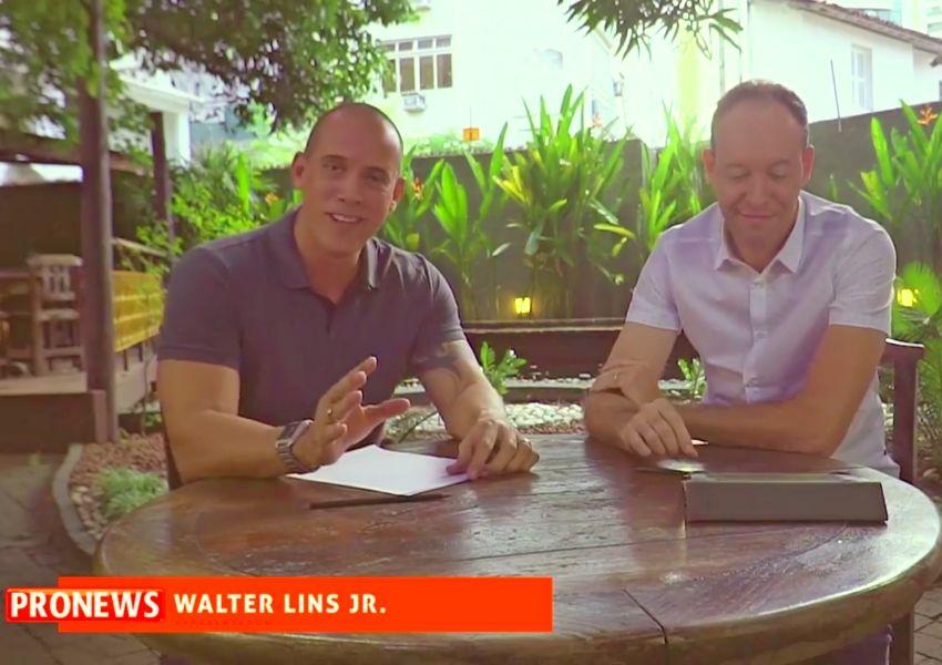 Walter Lins Jr entrevista Daniel da Hora