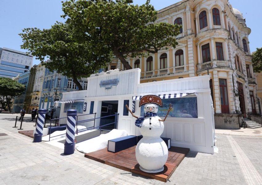 Gillette inaugura Barbearia de Gelo no Recife para ação promocional