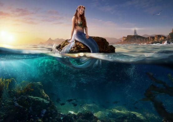 DPZ&T transforma Marina Rui Barbosa em sereia