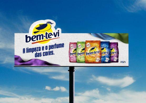 Bem-te-vi lança nova campanha 'A limpeza e o perfume das cores'