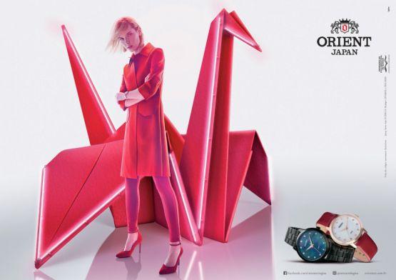 Campanha assinada pela Ogilvy para a Orient traz elementos da cultura japonesa