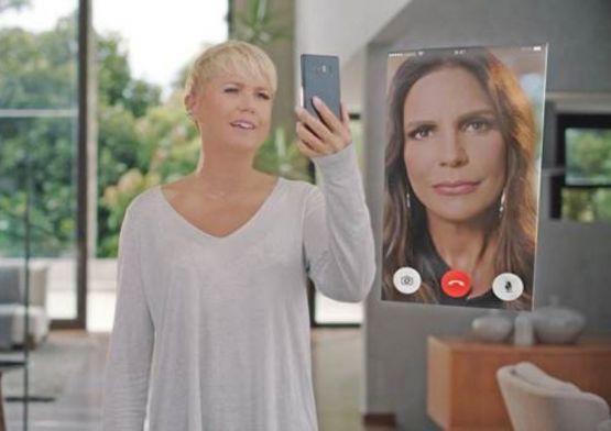 Xuxa volta no tempo em nova campanha da Vivo