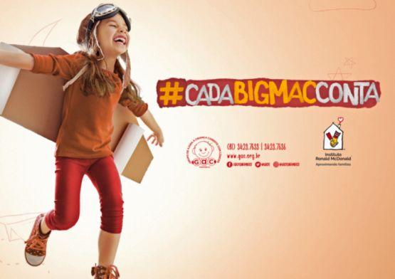 Campanha da Agência UM para o GAC no McDia Feliz mostra como é gostoso ajudar