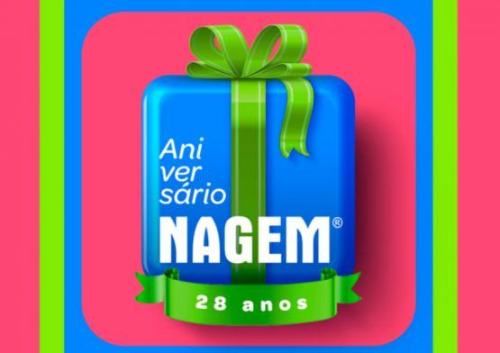 Blackninja assina campanha de aniversário da Nagem