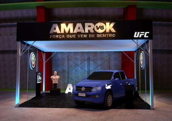 Bullet volta a ativar Amarok em evento do UFC