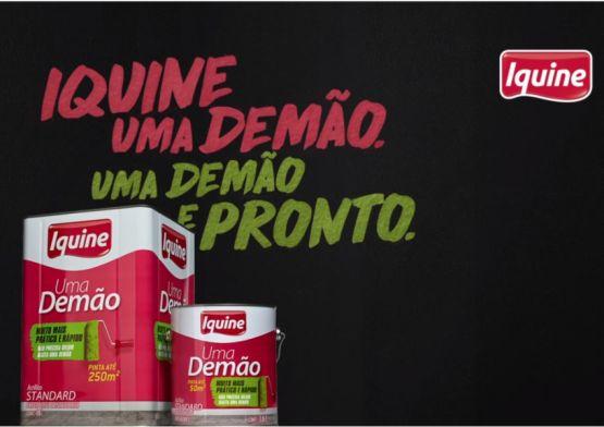 """Ampla Comunicação assina campanha de lançamento  de """"Uma Demão"""" da Iquine"""