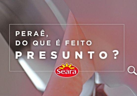 Seara apresenta nova campanha do presunto 100% pernil