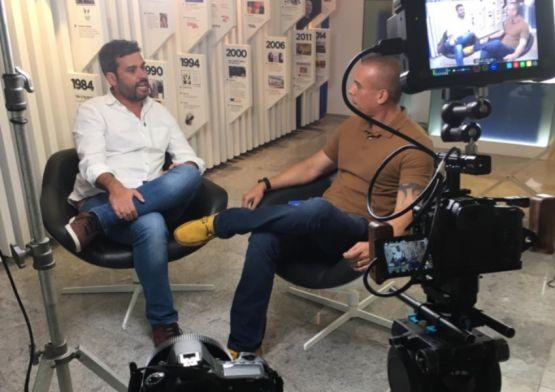 Walter Lins Jr entrevista Manuel Cavalcanti da  agência pernambucana Ampla