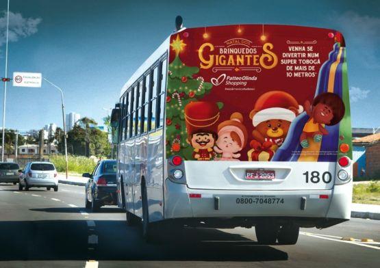Blackninja leva Natal dos Brinquedos Gigantes para o Patteo