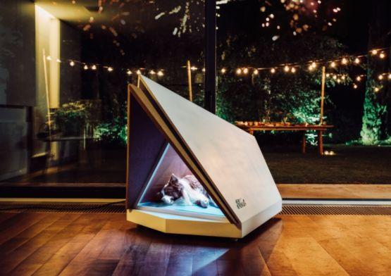 Ford cria casinha de cachorro com sua tecnologia antirruído
