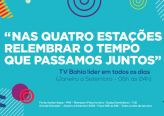 Campanha da TV Bahia agradece liderança em 2018